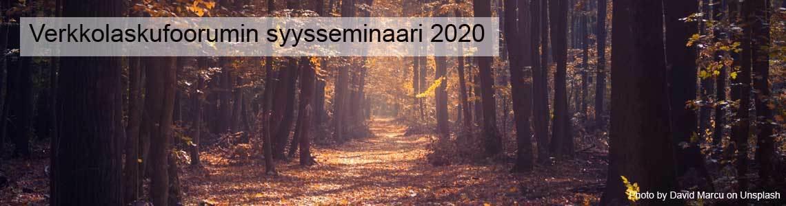 Verkkolaskufoorumin syysseminaari 2020